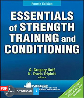 Essentials of Strength Training and Conditioning 4th Edition (p d f)
