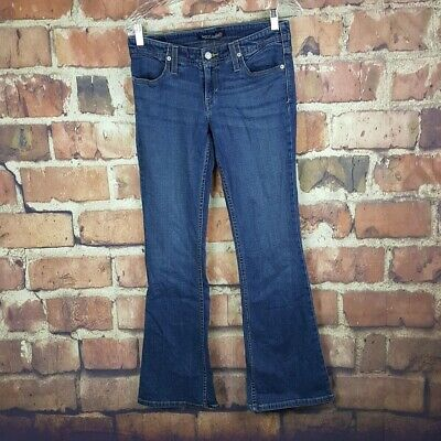 70ba425ddb1 LEVI'S GENUINELY CRAFTED Flare Leg Mid Rise Stretch Denim Jeans 16M ...