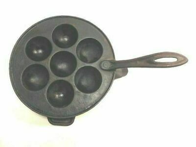 Popovers Pan - Cast Iron Fireplace Popover Pan w Stand - Neat! - SALE!