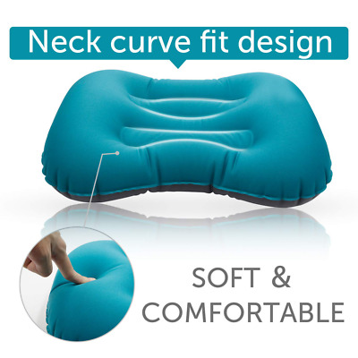 Camping Pillow Outdoor Ultralight Inflatable Portable Comfotable for Your Neck a