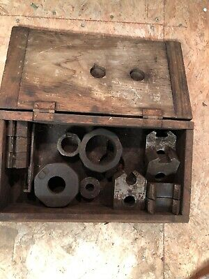 Vintage Armstrong Large Threading Die Tool  Holder SET Genuine R 1, R2.