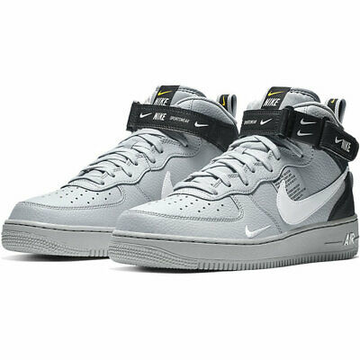 the best attitude 619b3 1db10 Nike Air Force 1 Mid 07  LV8 Wolf Grey 804609 006 Size 7 Mens