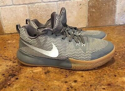 8f19579fe85c Nike Zoom Live II Cool Grey   Mens Basketball Shoes Size 9.5 Low Top