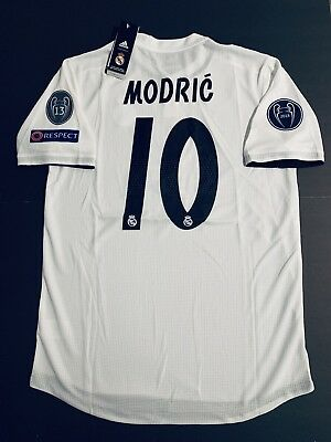 sale retailer 8debe ef570 LUKA MODRIC JERSEY Player Version Real Madrid Home XL