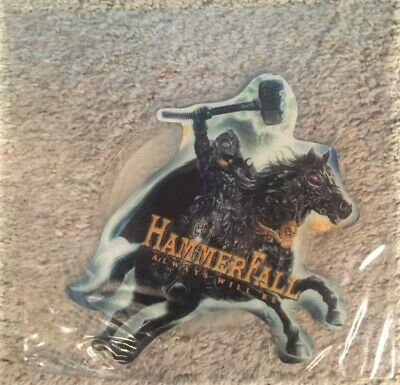 "Hammerfall - Always Will Be (7"" Shaped Vinyl Picture Disc Limited Edition) NEW"