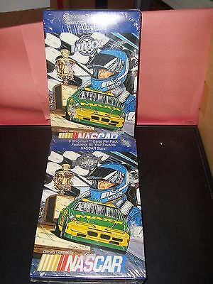 NASCAR MAXX PREMIER 1993 Chromium Race Cards Unopened Box 36 Packs 8 Cards Per