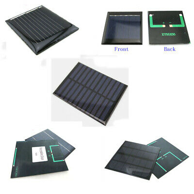 1V 3V 5.5V 6V 12V MINI Solar Panels 0.08W 0.3W 0.88W 3.12W 1.92W Battery Charger