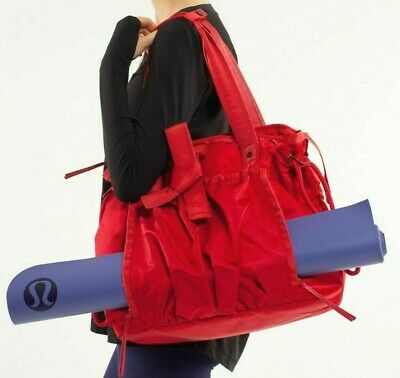 03a6df84f5 NEW LULULEMON Everything Bag Freckle Flower Fireside Red Rosewood NWOT.