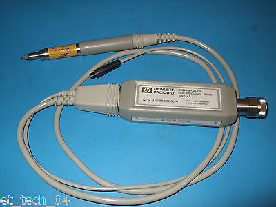 HP RF 85024A Active Probe 300khz - 3Ghz   TESTED Great for Spectrum Analyzer