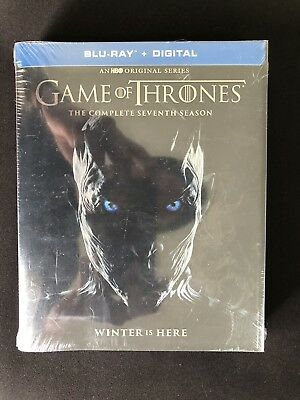 Game of Thrones Complete Seventh Season -Season 7 Blu-Ray Digital Set Sealed New