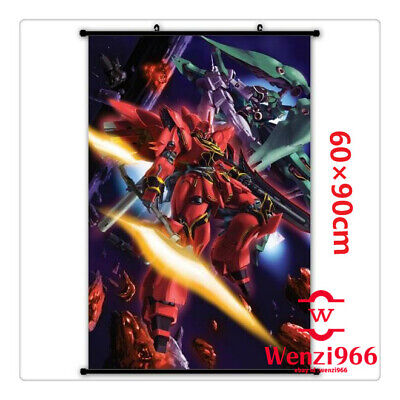 Wall Anime GUNDAM Cosplay Decorate Decor Poster Scroll Home Gift 60*90CM #X62