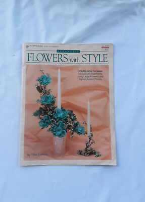 Pat Dempke Craft Book  Vintage Arranging Flowers with Style