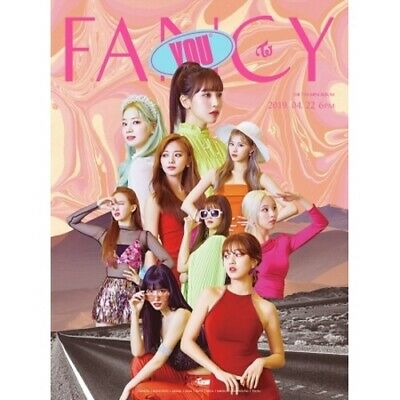 Twice-[Fancy You] 7th Mini Album A Ver CD+Book+Card+etc+Pre-Order+Gift+Tracking