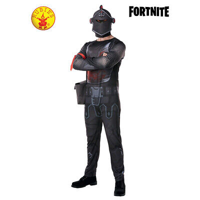 Rubie's Licensed Fornite Black Night Costume 3 x Sizes **FREE DELIVERY**