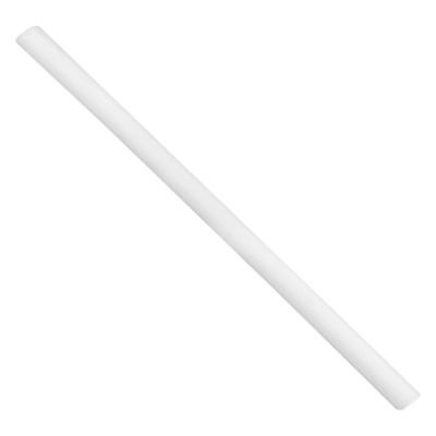 "Teflon – PTFE Plastic Rod 1-1/4"" Diameter x 15"" Length – White"