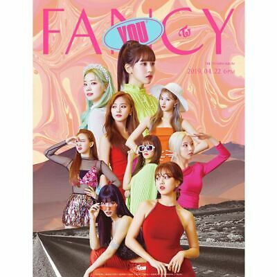 TWICE FANCY YOU 7th Mini Album 3SET CD+Photobook+Photocard+Etc+Tracking Number