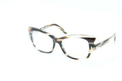 322493eb59 Neuf Tom Ford Tf 5268 050 Havane Lunettes Authentique Cadres Rx Tf5268  51-16-