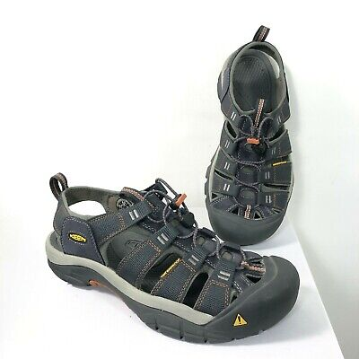 d7e13e17e273 Keen Newport H2 Sports Sandals Shoes India Ink Rust Men s Size 9.5 US