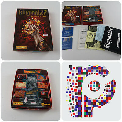 Kingmaker A US Gold Game for the Commodore Amiga Computer tested & working