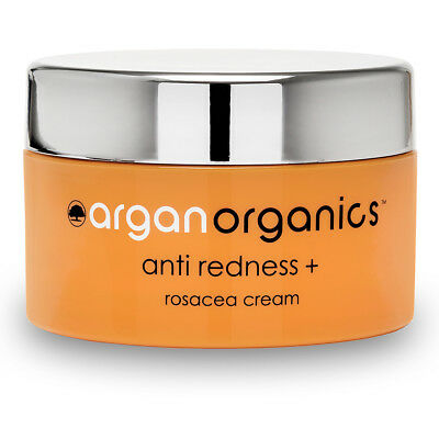 Rosacea Treatment Cream Anti Redness + Argan Organics Skin Care 50ml