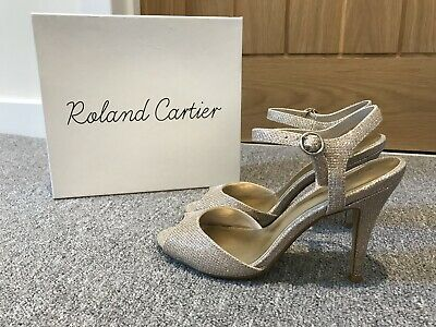 b0e466765cf LADIES ROLAND CARTIER HIGH HEEL SHOES With MATCHING HAND-BAG Size 5 ...
