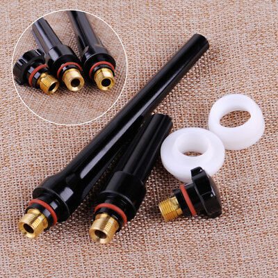 3 Back Cup 2 Gas Lens Insulator Fit WP17 18 26 TIG Welding Torch 57Y01 02 03 04