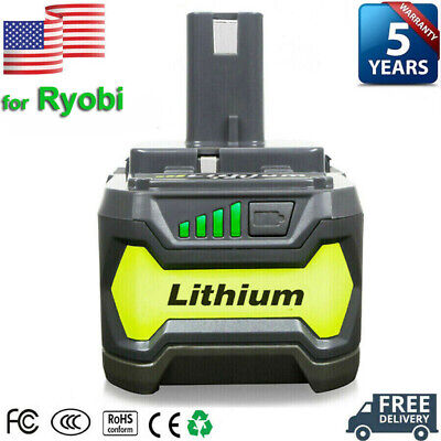 18V 4.0Ah P104 For Ryobi P108 One Plus Lithium High Capacity Battery P105 P102