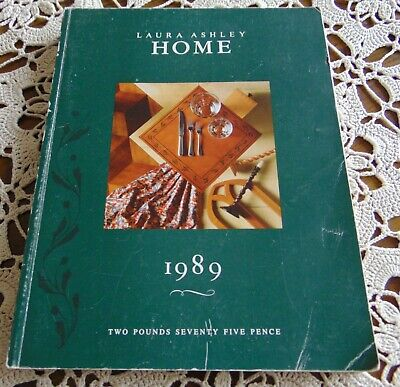 Laura Ashley Vintage 1989 Home Decoration/ Furnishings Catalogue 232 pgs - Rare