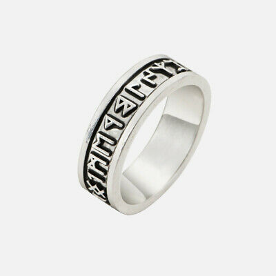 Viking Ring Rune Norse Nordic Celtic Silver