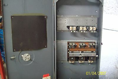 Heavy Duty 400 Amp 240 Volt Fusible Enclosed Disconnect Switch Zinsco Hd-4033