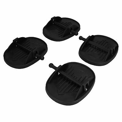 4 Pack Caravan Jack Pads Corner Steady Feet Stabiliser Shoes Anti-sink Steadies