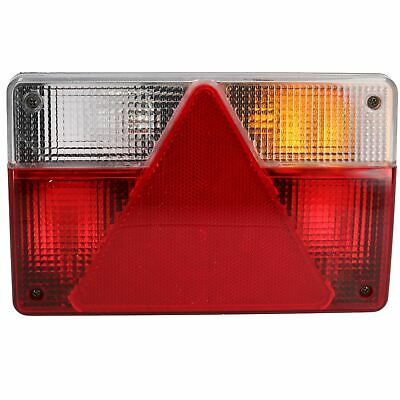 Trailer Caravan Right Light Replacement Lamp with AJBA 6 PIN Plug Indespension