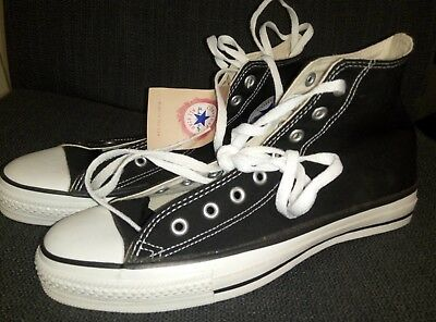 99b72d122781 Converse Sneakers Black New Without Box Size 10 Dead Stock Made In Usa All  Star