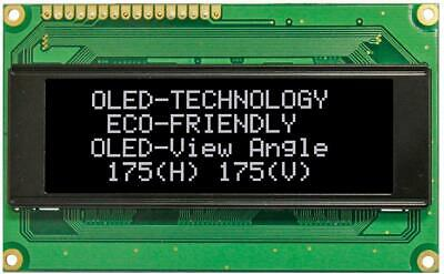 OLED Display Module, 20x4, White - WINSTAR