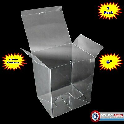 "FP2 Display Box Cases / Protectors For 6"" Funko Pop Vinyl (Pack of 3)"
