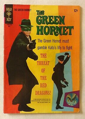 Green Hornet 2 Gold Key Comics 1967 FN/FN+ Condition Bruce Lee Photo Cover