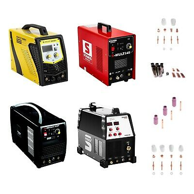 Combined Welder TIG MMA Plasma Cutter Inverter Stamos Cutting Welding Machines