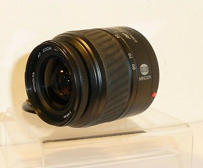 GENUINE MINOLTA AF 35-80mm ZOOM LENS for DYNAX FILM SLRS & SONY DSLRs (198)