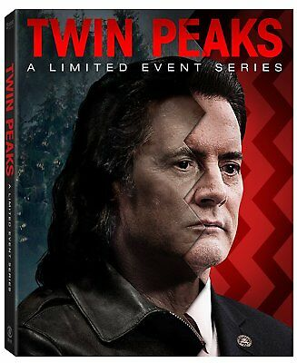 Twin Peaks A Limited Event Series Edition Dvd Box Set New Sealed