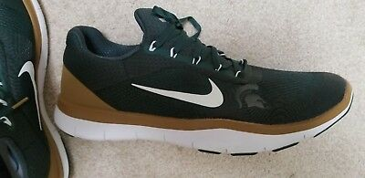 b74261eb1fc1 NIKE FREE TR 8 Michigan State Spartans Game Day Trainer Shoes Mens ...