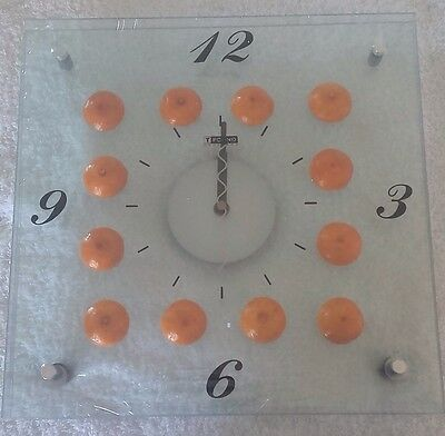 Reloj Naranjas TFOUND Art Clock