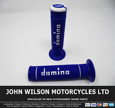 Honda ST 50 Dax 1970 Blue Domino Handle Bar Race Grips