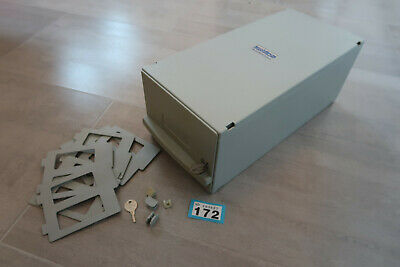 "100 3.5"" Floppy Disk Stackable Storage container with dividers Amiga Atari st PC"