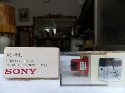 Sony XL-44L moving coil NEW cartridge stereo no screws for fixing no instruction