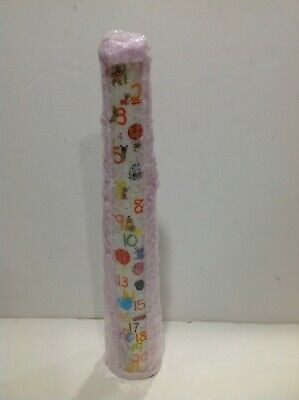16 Tall Pink Birthday Candle FIRST 21 YEARS 1 Textured Detail NEW