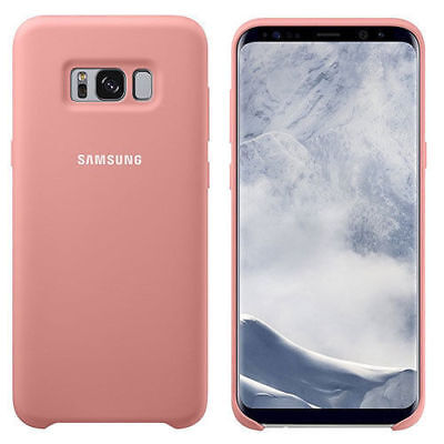 Samsung Galaxy S8+ Ultra Thin Strong Silky Soft Touch Silicone Cover Case - Pink