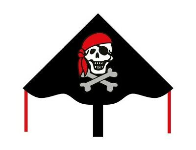 AQUILONE simple flyer JOLLY ROGER eco line kids INVENTO HQ kite PIRATI età 5+