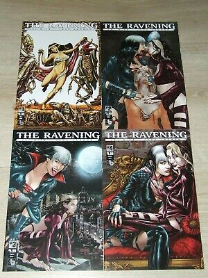 The Ravening (2016 Boundless) # 1, 2, 3 & 4 (complete set)