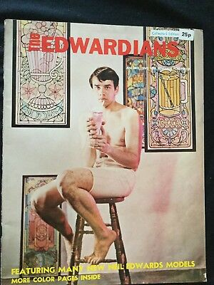 Rare The Edwardians Magazine Neil Edwards Models Photography Gay Interest