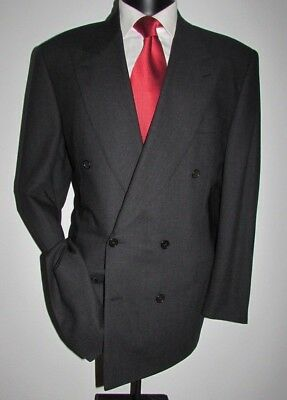 Canali Milano Barney's New York Men's 6 Btn. Double Breast Suit jacket Size 42 L